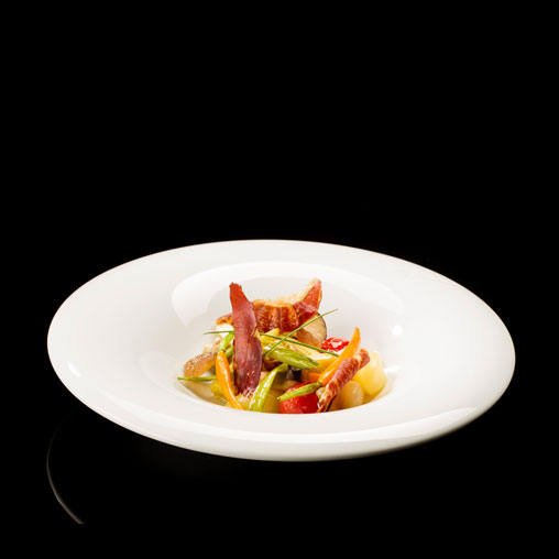 CONFIT VEGETABLES WITH JOSELITO